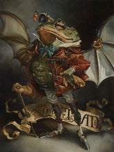 "Load image into Gallery viewer, ""The Insatiable Mr. Toad"" by Heather Edwards"
