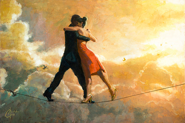 Tightrope Tango by Christopher Clark