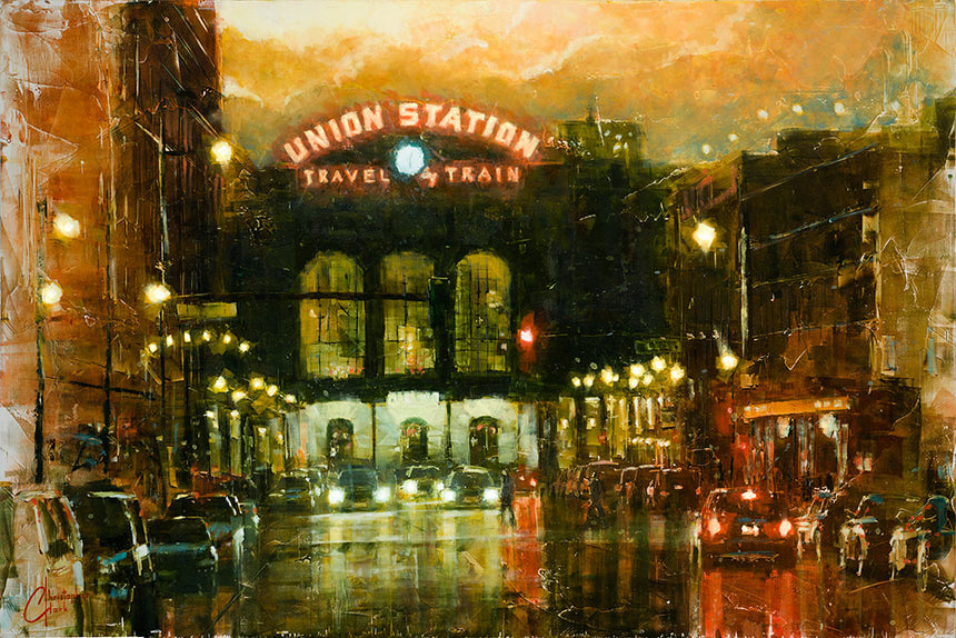 Union Station by Christopher Clark