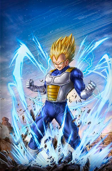 Vegeta by Dominic Glover