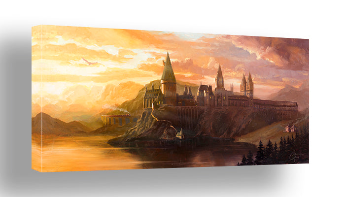 Welcome to Hogwarts by Christopher Clark