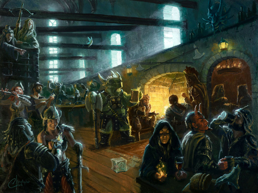 Wizard's Hearth Tavern by Christopher Clark