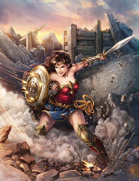 Wonder Woman by Dominic Glover