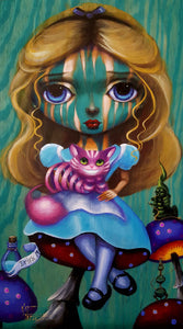 """Big Eyes Alice"" by Kat Tatz"