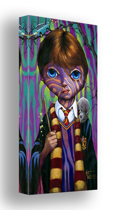 Big Eye Ron Weasley by Kat Tatz