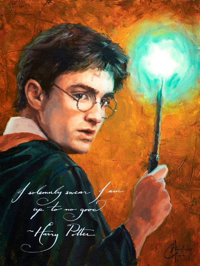 Harry Potter Portrait Series by Christopher Clark