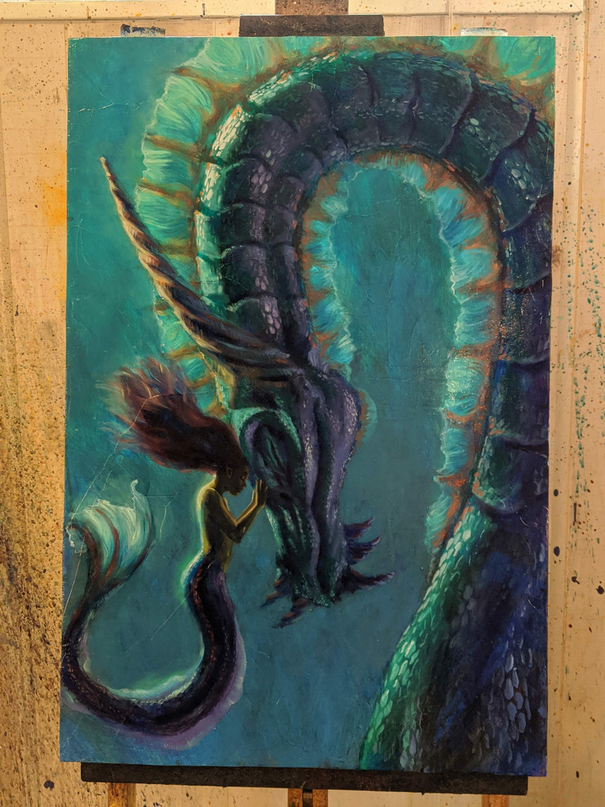 Sea Dragon by Christopher Clark