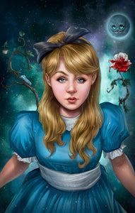 """Alice in Wonderland"" by Dominic Glover PAPER & CANVAS AVAILABLE"