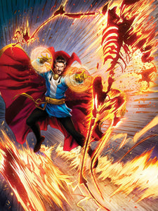 """Sorcerer Supreme"" by Dominic Glover - PAPER & CANVAS AVAILABLE"