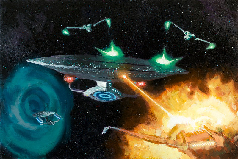 Yesterday's Enterprise by Christopher Clark