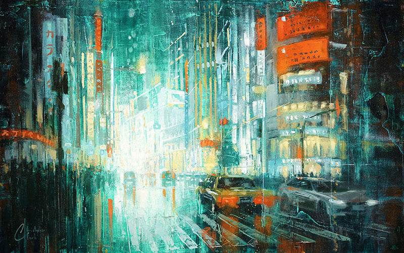 Tokyo at Night by Christopher Clark