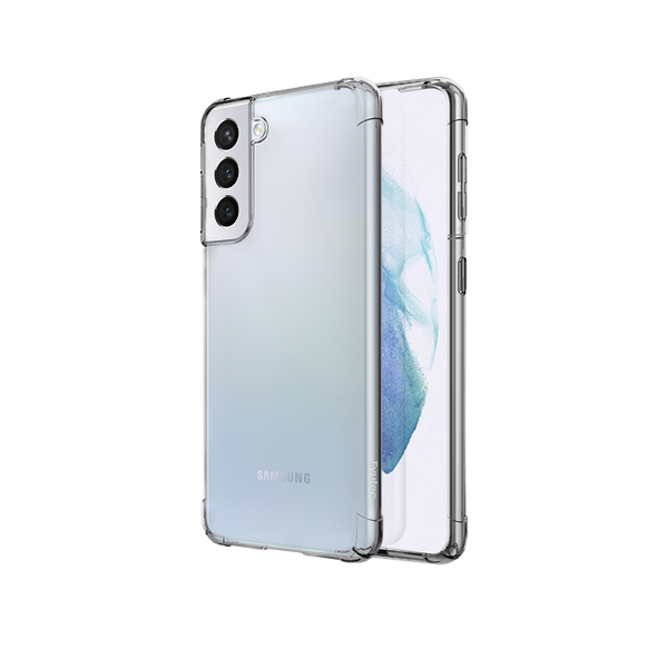 Evutec Samsung S21 clear case AER ECO - Clear no metal