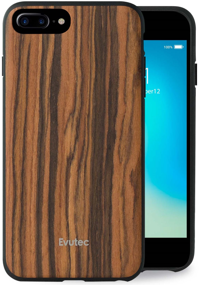 AER Series iPhone 8 Plus/7 Plus/6s Plus/6 Plus Wood Burmese Rosewood (AFIX+ Magnetic Mount Included)