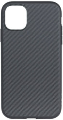 Evutec Karbon iPhone 11 Pro Slim Light Smooth Real Aramid Fiber Protective Phone Case scratch resistant Durable Cover - Black + Vent Mount