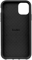 Evutec Ballistic Nylon iPhone 11 Unique Heavy Duty Premium Protective Military Grade Shockproof Phone Case Cover Magnetic Mount Included Black