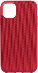 Evutec Ballistic Nylon iPhone 11 Pro Unique Heavy Duty Premium Protective Military Grade Shockproof Phone Case Cover Magnetic Mount Included Red