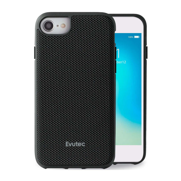 Evutec iPhone SE 2020/8/7/6s/6 Ballistic Nylon Honeycomb Interior Drop Protection Case with Magnetic Vent Mount