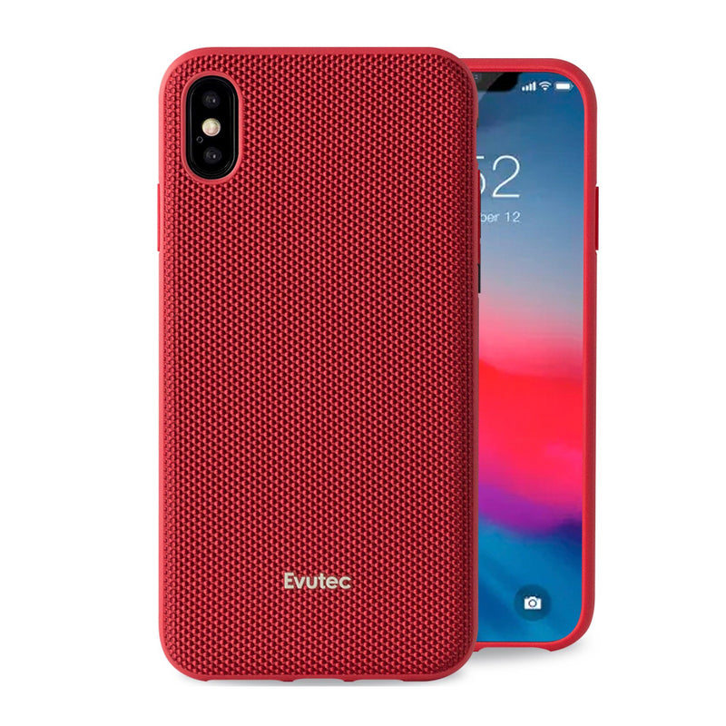 Evutec Ballistic Nylon Case with Magnetic Vent Mount for iPhone X/Xs