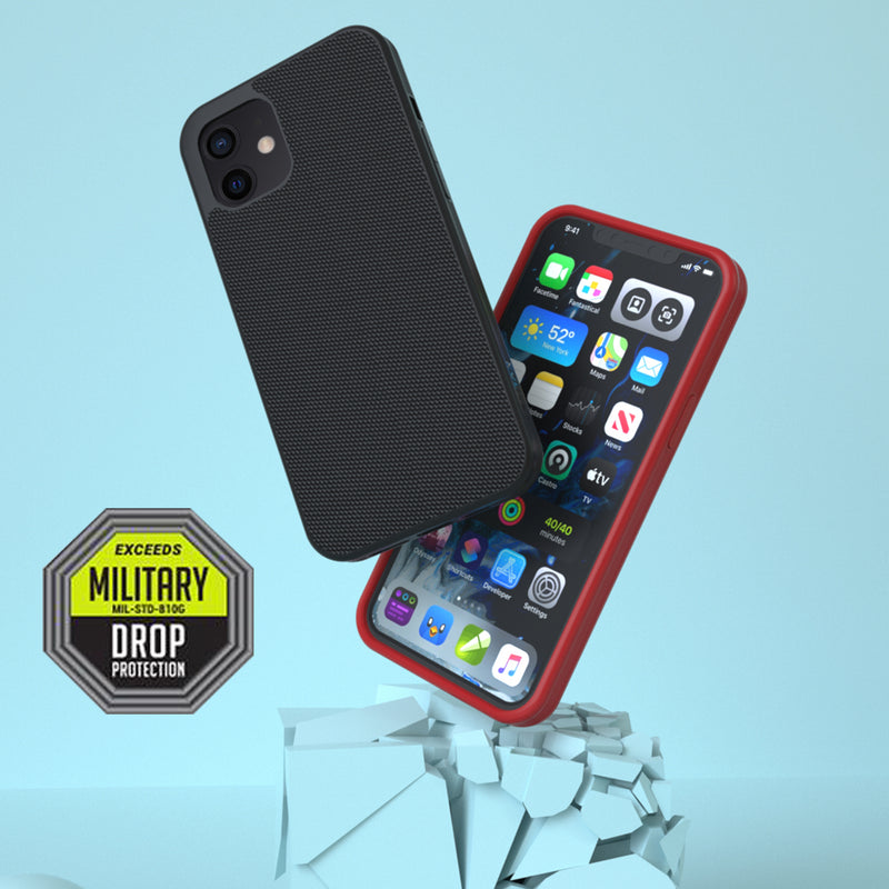 Evutec Ballistic Nylon Phone Case with Vent Mount for iPhone 12 mini / 12 / 12 Pro / 12 Pro Max