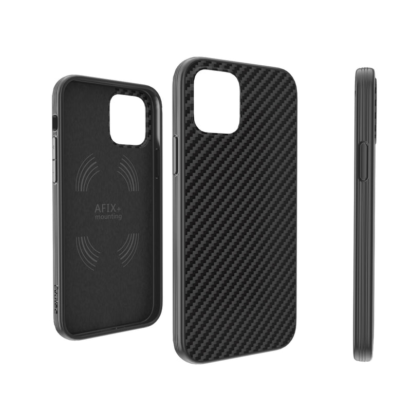 Evutec Slim Light Smooth Case with Vent Mount for iPhone 12 / 12 Pro