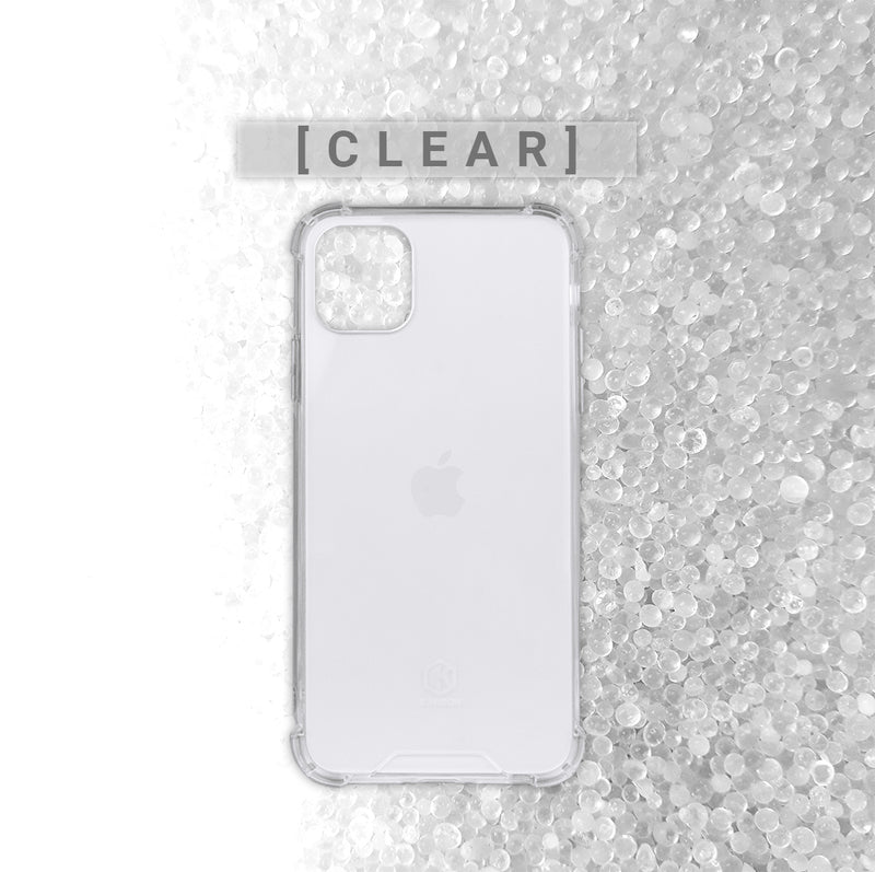 Evutec Karbon Clear Case with iPhone 11 Pro Transparent Back & Shock Resistant TPU Bumper Slim Protective Light Weight Cover 5.8 Inch Crystal Clear