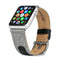 Evutec iWatch 38mm & 40mm Leather Premium Fabric Hand Stitched Watch Band Strap Series 4, Series 3, Series 2, Series1