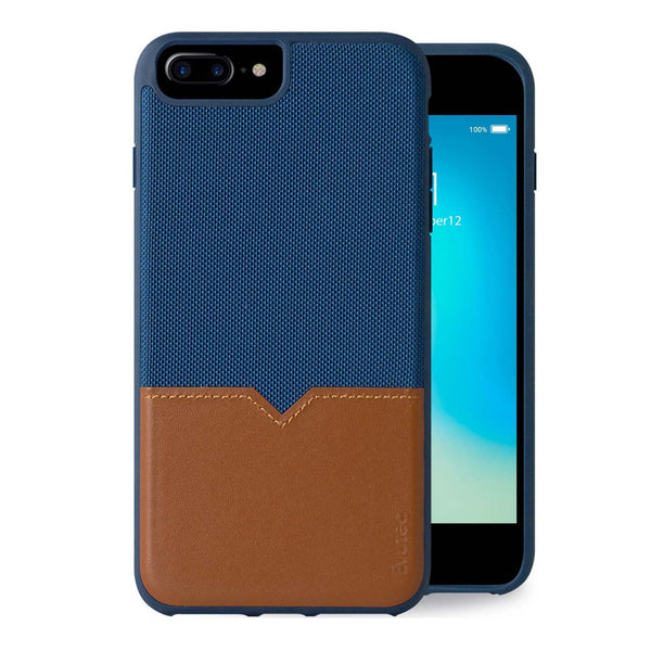 Evutec Leather Phone Case with Vent Mount for iPhone 8 Plus/ 7 Plus/ 6s Plus/ 6 Plus