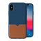 Evutec iPhone Xs Max Premium Leather, Fabric Drop Protection Case with Magnetic Vent Mount