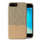 Evutec iPhone 8 Plus/ 7 Plus/ 6s Plus/ 6 Plus Premium Leather, Fabric Drop Protection Case with Magnetic Vent Mount