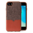 Evutec Leather Phone Case with Vent Mount for iPhone SE 2020/8/7/6s/6