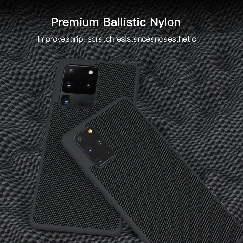 (PRESALE) Samsung S20+ Ballistic Nylon Case with AFIX+ Vent Mount