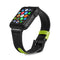 Evutec Reflective Sport Band 42mm & 44mm Silicone Vegan Leather for iWatch Series 5/4/3/2/1