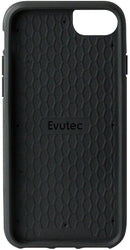 Evutec iPhone 8 Plus/ 7 Plus/ 6s Plus/ 6 Plus Blue/Saddle Premium Leather, Fabric Drop Protection Case with Magnetic Vent Mount