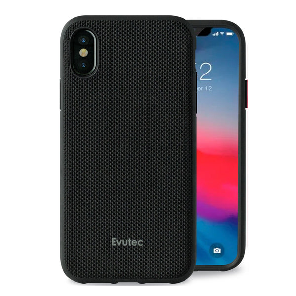 Evutec Ballistic Nylon Case with Magnetic Vent Mount for iPhone Xs Max