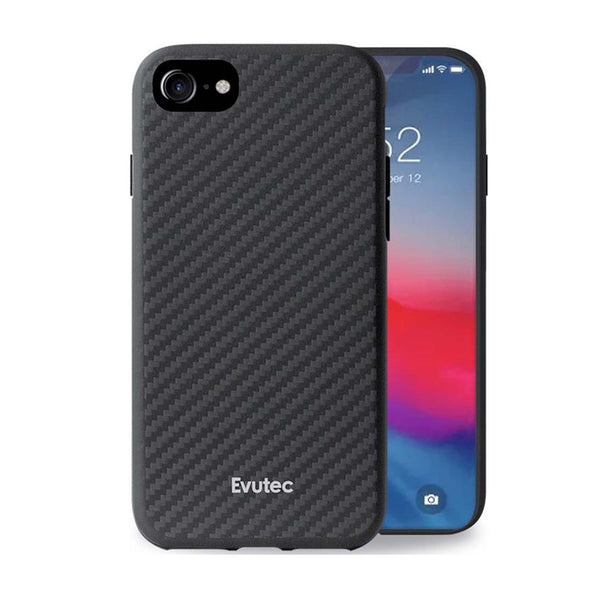Evutec Slim Light Smooth Case with Vent Mount for iPhone SE 2020/8/7/6s/6