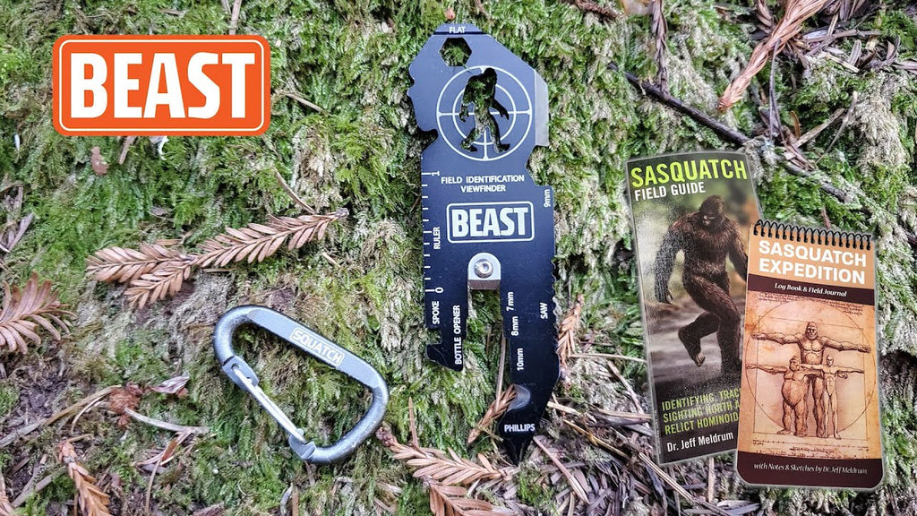 Introducing THE BEAST - The Bigfoot Expedition and Survival Tool, the Ultimate Gift for Bigfoot Lovers
