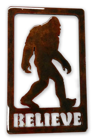 Believe Bigfoot - Magnet