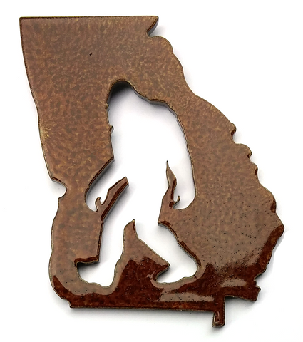Georgia Bigfoot - Magnet
