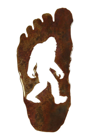 Bigfoot Footprint Small - Magnet