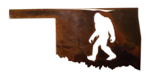 Oklahoma Bigfoot - Magnet