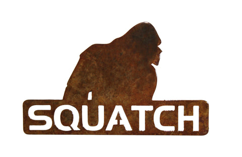 Squatch Logo Small - Magnet