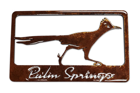 Roadrunner with Palm Springs - Magnet