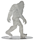 "Bigfoot Walking Stainless Steel Stand-Up 7.5"" Tall - Metal Art"