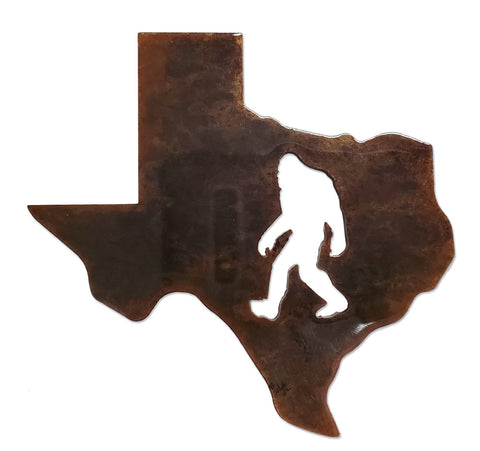 Texas Bigfoot - Magnet