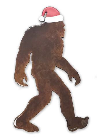 Bigfoot Santa - Magnet