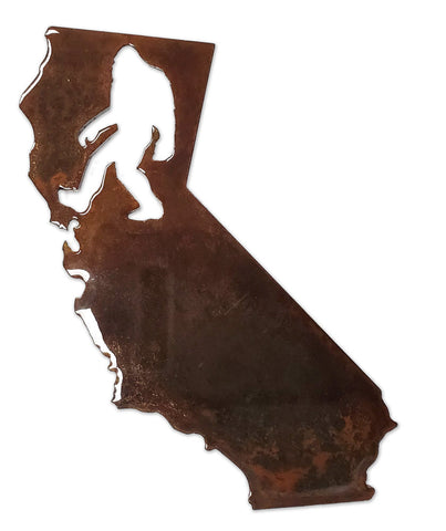 California Bigfoot - Magnet