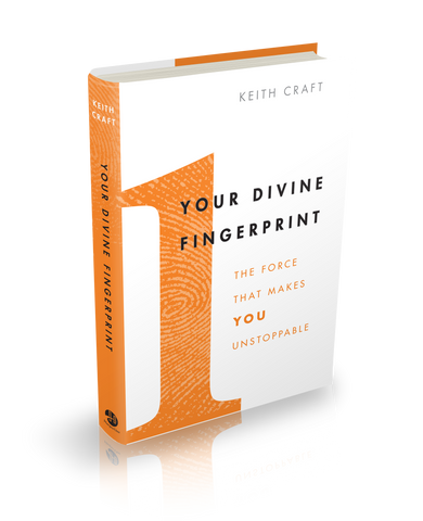Your Divine Fingerprint Hardback Book
