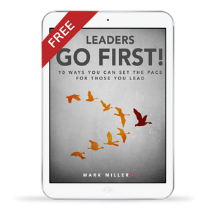 Leaders Go First: eBook