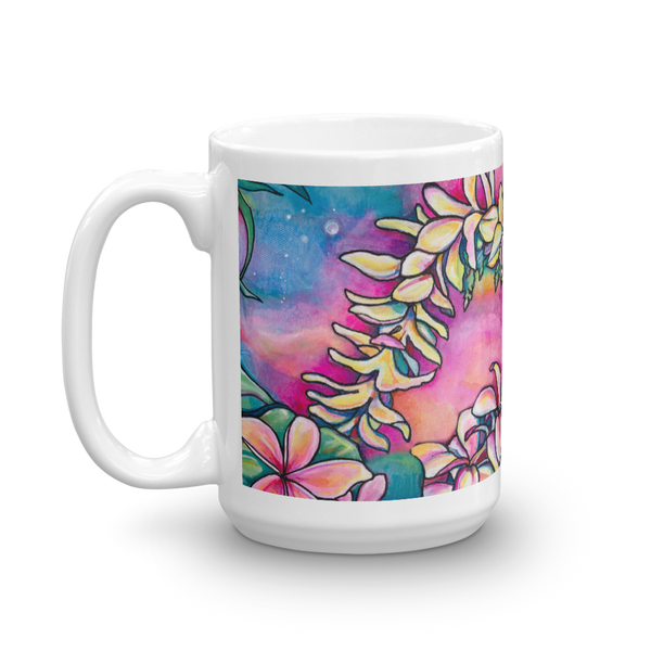 "NEW-""Na Lei"" 15 oz art mug"