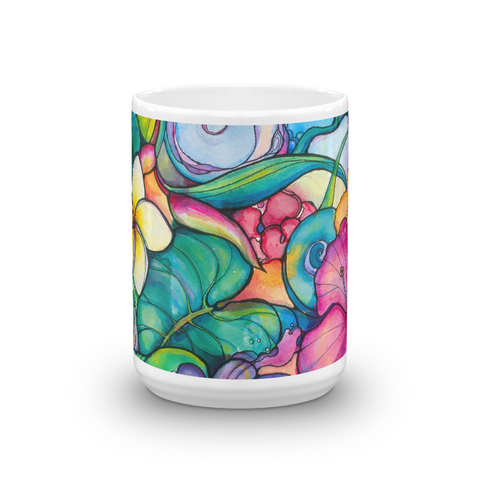 "NEW-""Paradise"" 15 oz art mug"